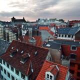 Udsigt over Københavns indre by.