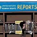 Den tidligere Hamas-minister Bassem Naim tog helt fejl af karikaturtegning og sendte den i yderligere omløb på Twitter.