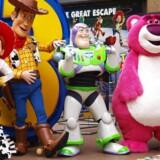 Arkivfoto: De fire hovedkarakterer fra Toy Story 3 ved filmpremieren i 2010. Nu kommer der en 4'er.