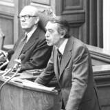 Erik Ninn-Hansen (Det Konservative Folkeparti) var som justitsminister meget skeptisk over for udlændingeloven af 1983. Han frygtede »raceuro.«