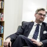 Søren Pind har kun hovedrysten tilovers, efter Socialdemokraternes gruppeformand har udtalt sig skråsikkert om en kommende valgsejr til partiet.