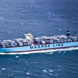 Arkivfoto: Maersk Line. (Foto: Asger Ladefoged/Scanpix 2013)