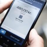 Danske Banks vidunderbarn MobilePay udvider igen og kan snart bruges ved bare at scanne et såkaldt tag. Det skriver Børsen. (Foto: Simon Læssøe/Scanpix 2015)