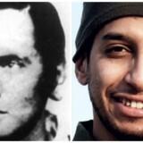 Andreas Baader (tv) var tysk terrorist i 70'erne, mens Abdelhamid Abaaoud var islamist terrorist i 2015 - men hvad er egentlig forskellen?
