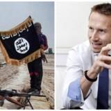Kristian Jensen åbner for at angribe Islamisk Stat i Syrien.