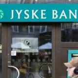 ARKIVFOTO. Både Jyske Bank og Danske Bank kræver nu penge for at have store erhvervskunders penge stående i banken.