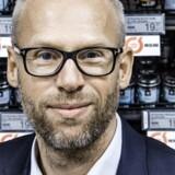 Økologiske varer har udsigt til billigere prisskilte i samtlige Coop-butikker. Food-direktør, Jens Visholm, er ikke en »øko-flipper«, men sætter pris på smag og kvalitet. Foto: Thomas Lekfeldt