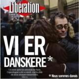 Udsnit af Liberations forside mandag