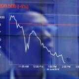 De fjernøstlige aktiemarkeder er generelt negative tirsdag morgen. Arkivfoto.
