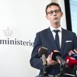Karsten Lauritzen præsenterede fredag regeringens nye handlingsplan med overskriften »SKAT ud af krisen«. Foto: Jens Nørgaard Larsen