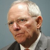 Wolfgang Schäuble bliver finansminister. Foto: Yoan Valat/EPA