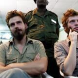 Tjostolv Moland til venstre er fundet død i Congo.
