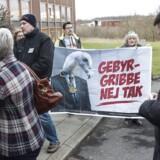 Fremmødte ved Nykredits repræsentantskabsmøde i Kolding.