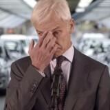 Volkswagens topchef Matthias Mueller