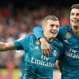 Cristiano Ronaldo scorede to gange på straffespark, inden Marcelo og Toni Kroos cementerede sejren på 4-1.