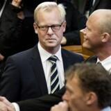 Carl Holst og Peter Christensen under Folketingets åbning 2015.