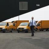 Martin von Horsten, Chef for produktionsudvikling i Post Danmark. Fredag den 13. februar 2015