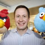 Administrerende direktør i Rovio Mobile Mikael Hed kan glæde sig til at arve sin far, Kaj Heds,formue, for senior står til at blive dollarmilliardær på børsnoteringen af Angry Birds-selskabet.