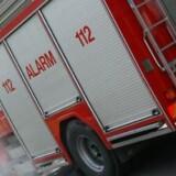 Brandvæsenet fik hurtigt slukket branden i lejligheden i Aarhus. Men da var det for sent for beboeren i stueetagen. Arkiv. Free/Colourbox