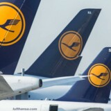 Lufthansa-aktien flyver til vejrs.
