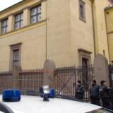 Den jødiske synagoge på Krystalgade i det indre København.