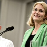 Statsminister Helle Thorning-Schmidt og økonomiminister Morten Østergaaard ved dagens pressemøde i Statsministeriet.