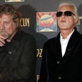 Led Zeppelins Robert Plant (tv.) og guitarist Jimmy Page fotograferet i 2012. I næste uge skal de i retten for at forsvare originaliteten af »Stairway to Heaven«.