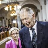 Tidligere formand for Folketinget Christian Mejdahl ved Folketingets åbning d. 7. oktober 2014.