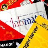 Danskerne har pungen fuld af klubkort eller medlemskort til butikker og butikskæder.