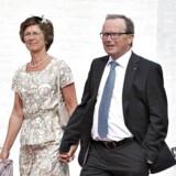 Kjeld Kirk Kristiansen og Camilla Kirk Kristiansen. (Foto: Henning Bagger/Scanpix 2016)
