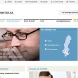 De svenske domstoles netsted, domstol.se, bukkede onsdag under for et udmattelsesangreb.