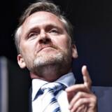 Liberal Alliances formand, Anders Samuelsen, mener, at partiet har noget at byde på, og det vil man gerne fortælle om. Foto: Henning Bagger
