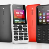 Der er bestemt noget retro over den nye Nokia 130-telefon, som Microsoft præsenterede mandag. Den koster kun 140 kroner men kommer næppe til Danmark. Foto: Nokia/Microsoft