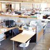 I undersøgelsen, som Finanssektorens Arbejdsgiverforening har foretaget blandt over 100 finansvirksomheder, forudser virksomhederne, at der vil forsvinde 550 stillinger i sektoren i år. Foto: Iris.