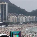 Copacabana i Rio de Janeiro