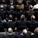 Arkivfoto fra det årlige møde i bankernes brancheorganisationm Finansrådet.