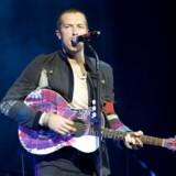 Anmelderne fremhæver forsanger Chris Martin efter solid koncert i Telia Parken. Arkivfoto Free/Colourpress.com