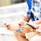 Mobiltelefonen har stadig ikke overhalet PCen som danskernes foretrukne måde at tilgå nettet på. Foto: Iris/Scanpix