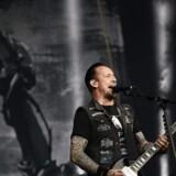 Volbeat spillede i Boxen i Herning til en udsolgt koncert i oktober 2016. Scanpix/Jean-sebastien Evrard