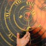 Dan Brown ved lanceringen af 'Inferno' i Firence. Foto: Maurizio Degl Innocenti/EPA
