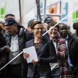 Winni Grosbøll – her ved Folkemødet 2016 – tog som nyudnævnt borgmester på Bornholm i 2011 sammen med Venstres Bertel Haarder initiativ til at skabe et årligt folkemøde, hvor borgere, politikere, organisations- og foreningsfolk mødes og diskuterer under afslappede former.