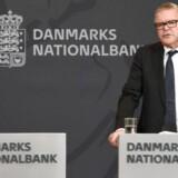 Nationalbanken afholder pressemøde i Repræsentantskabssalen onsdag 16. september 2015, hvor de offentliggør Kvartalsoversigt, 3. kvartal 2015.