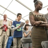 Statsborgerskabsdag i Folketinget, hvor alle nye statsborgere bliver budt velkommen af Folketingets medlemmer.