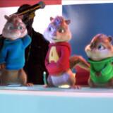 Alvin, Simon og Theodore er på farten igen. Helt sjovt er det ikke. Foto: PR