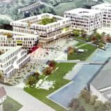 Kanalvejsprojektet er et andet af de nye, store projekter i Lyngby.