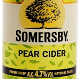 Sommersby Pear Cider.