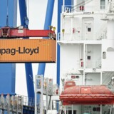 Arkivfoto: Hapag-Lloyd container.