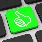Stadig flere virksomheder bruger sociale medier, frem for alt til markedsføring. Arkivfoto: Iris/Scanpix