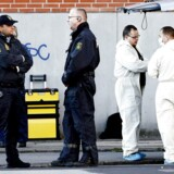 Antiterroraktion på Glasvej 8A på Nørrebro i København i 2008.