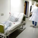 Der er fuld fokus på kampen mod senge på gangene på landets sygehuse, lyder det fra regionerne, der dog også efterlyser flere penge.